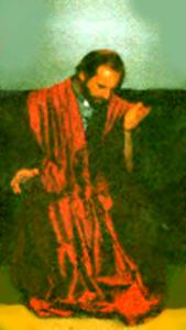 Daniel Clay in Meditation